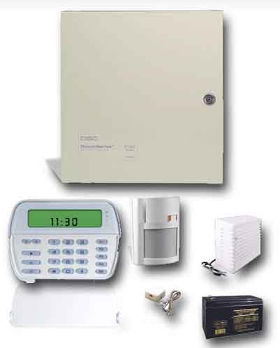 Wired Alarm System Kits | Dsc Wired Alarm System Kit With Pc1832 Pk5501 Lc100 Gessecurity