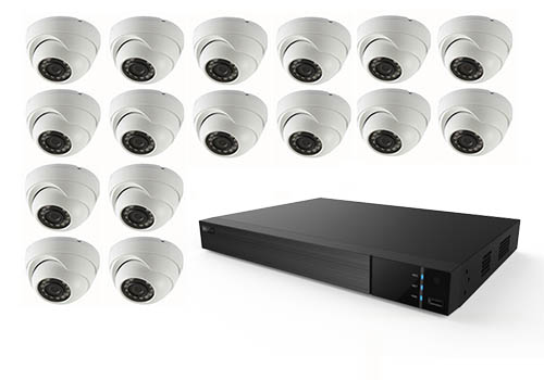 Pro NVR + 16 Cameras